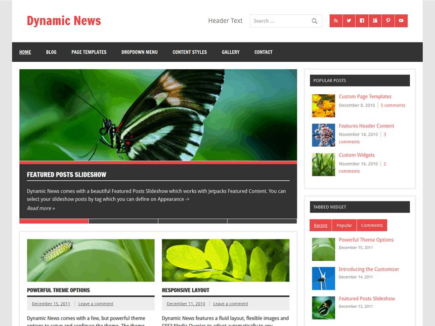 Best Free News WordPress Themes 2020